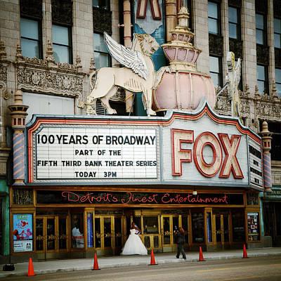 The Fox Theatre Poster by Natasha Marco