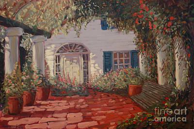 The Garden Poster by Monica Caballero
