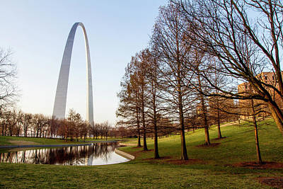 The Gateway Arch In St Poster