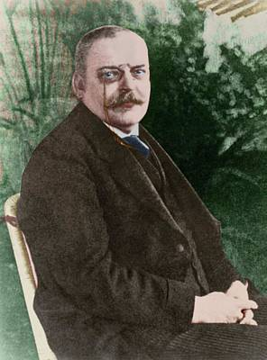 The German Psychiatrist Alois Alzheimer Poster by National Library Of Medicine