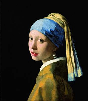 The Girl With A Pearl Earring Poster