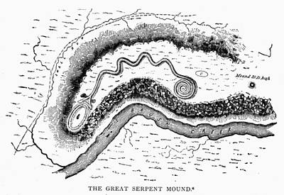 The Great Serpent Mound Poster