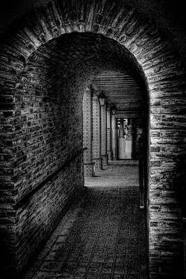 The Hallway At Tlaquepaque Poster