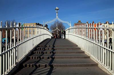 The Hapenny Bridge Originally Called Poster