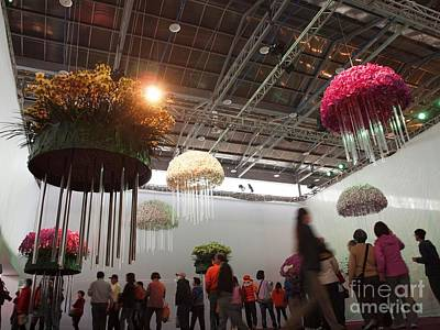 The International Orchid Show In Taiwan Poster by Yali Shi