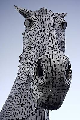 The Kelpies Poster by Stephen Taylor