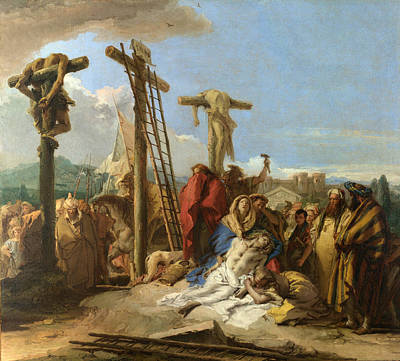 The Lamentation At The Foot Of The Cross Poster