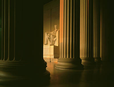 The Lincoln Memorial In The Morning Poster by Panoramic Images