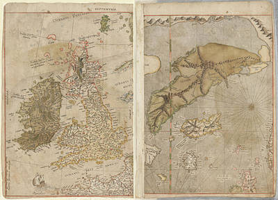 The Mercator Atlas Of Europe Poster by British Library