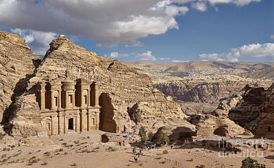 The Monastery El Deir Or Al Deir Poster