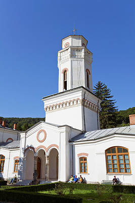 The Monastery Of Bistrita In Wallachia Poster by Martin Zwick