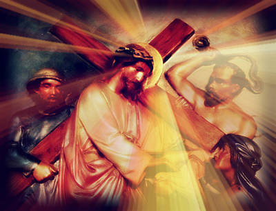 The Passion Of Christ Ix Poster by Aurelio Zucco