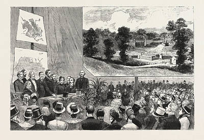 The Proposed Purchase Of Parliament Hill Poster by English School