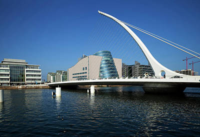 The Samual Beckett Bridge Poster by Panoramic Images
