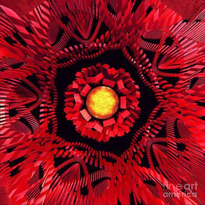 The Sun Is The Center Poster by Gaspar Avila
