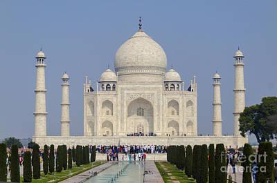 The Taj Mahal Poster by Pravine Chester