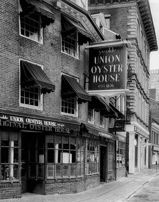 The Union Oyster House In Boston Poster