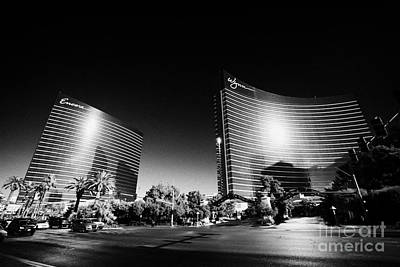 the wynn and encore resort and casinos Las Vegas Nevada USA Poster