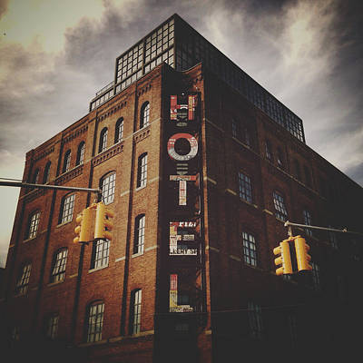 The Wythe Hotel Poster by Natasha Marco