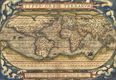 Theatrum Orbis Terrarum  Poster