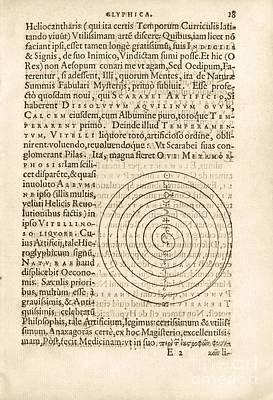 Theorem 18, Monas Hieroglyphica (1564) Poster