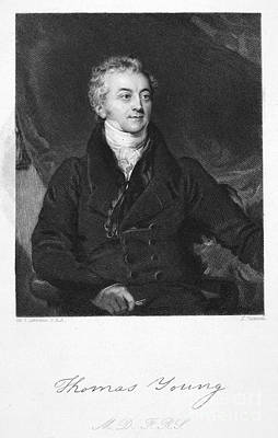 Thomas Young (1773-1829) Poster by Granger