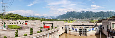 Three Gorges Dam, Yangtze River Poster by Panoramic Images
