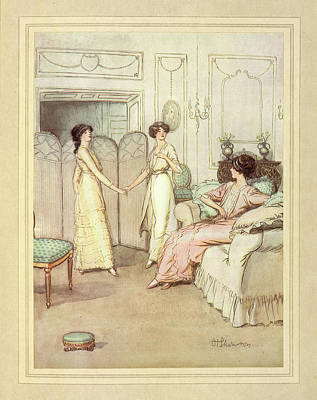 Three Women Poster by British Library