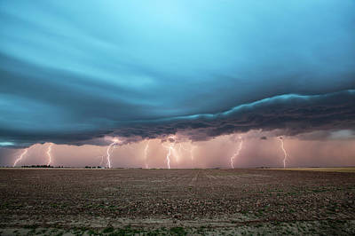 Thunderstorm Poster by Roger Hill