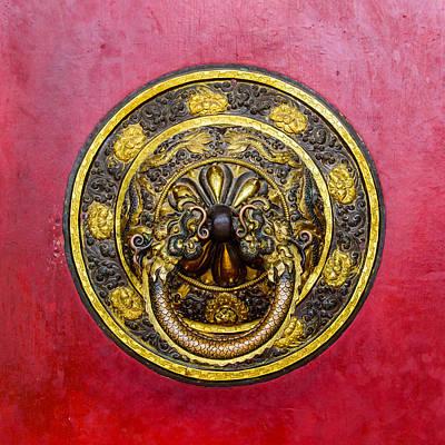 Tibetan Door Knocker Poster by Dutourdumonde Photography