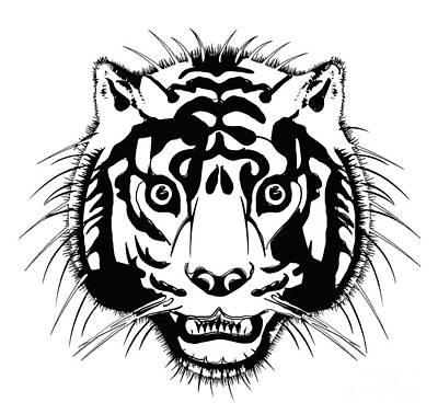 Tiger Poster by Michal Boubin