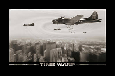 Time Warp Poster by Mike McGlothlen