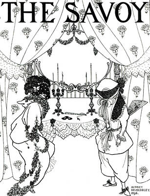 Title Page From The Savoy Poster by Aubrey Beardsley