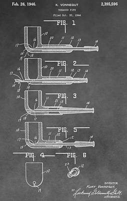 Tobacco Pipe Patent Poster by Dan Sproul