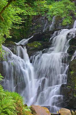 Torc Waterfall Killarney Ireland Poster by Jane McIlroy