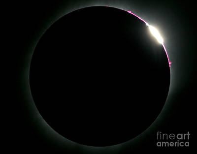 Total Eclipse Poster by Babak Tafreshi