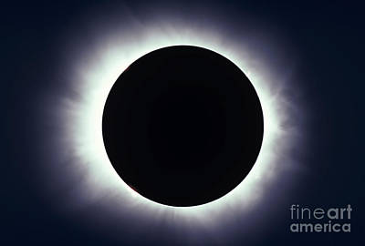 Total Solar Eclipse Taken Poster