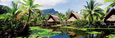 Tourist Resorts, Tahiti, French Poster
