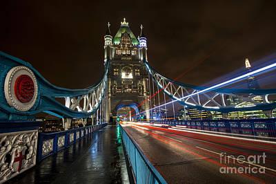 Tower Bridge London Poster by Donald Davis