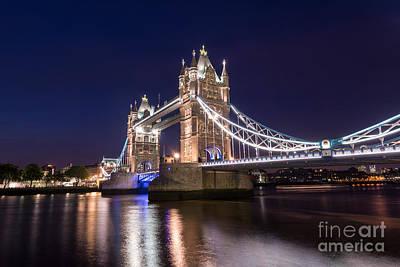 Tower Bridge Poster by Matt Malloy