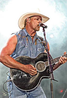 Trace Adkins Poster by Don Olea