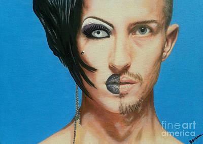 Transvestite Transformation2 Poster by Bozena Simeth