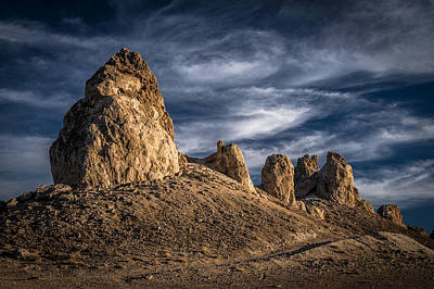 Trona Pinnacles Poster by Cat Connor