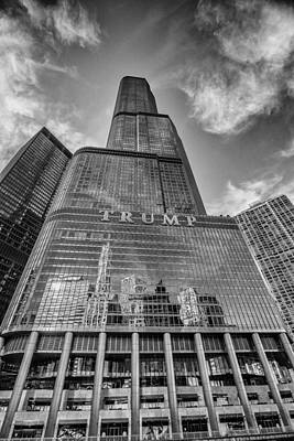 Trump Tower Chicago Poster by David Haskett