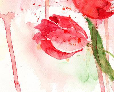 Tulip Flower Poster