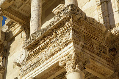 Turkey, Ephesus The Library Of Ephesus Poster