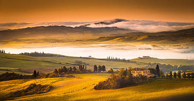 Tuscan Morning Poster by Stefano Termanini