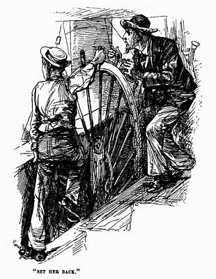 Twain Mississippi, 1883 Poster by Granger
