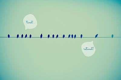 Tweeting Poster