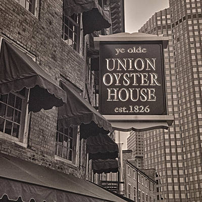 Union Oyster House Poster by Joann Vitali